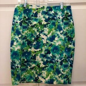 🍀 Forever 21 floral pencil skirt 6